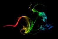 Rauchbild Vogel