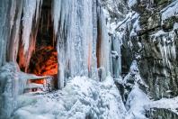 Winter in der Breitachklamm (2)