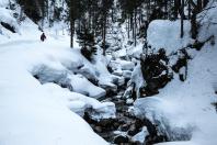 Winterpanorama bei Lenggries