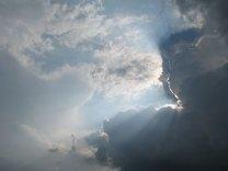 Schattenspiel auf der Wolkenbühne