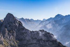 Morgennebel im Karwendel
