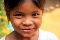Kleine Kambodschanerin