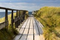 Weg über die Düne