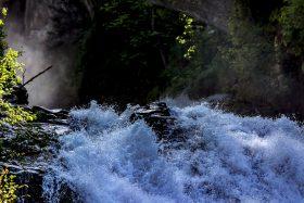 H2O als Wasser in der Gasteiner Ache