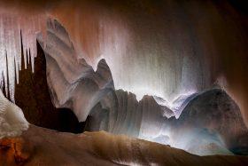 H2O als Eis in der Eisriesenwelt