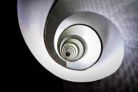 Spiralig - Treppe