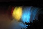 Niagara Gischt im Beleuchtungsdekor