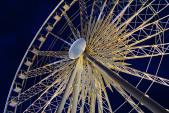 Riesenrad Vergnügen im Lichtermeer (Annahme)