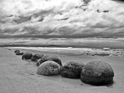 Strand-Murmeln