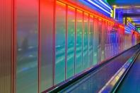 Lichtinstallation MUC Terminal 1