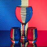 Spiegelung mit Glas