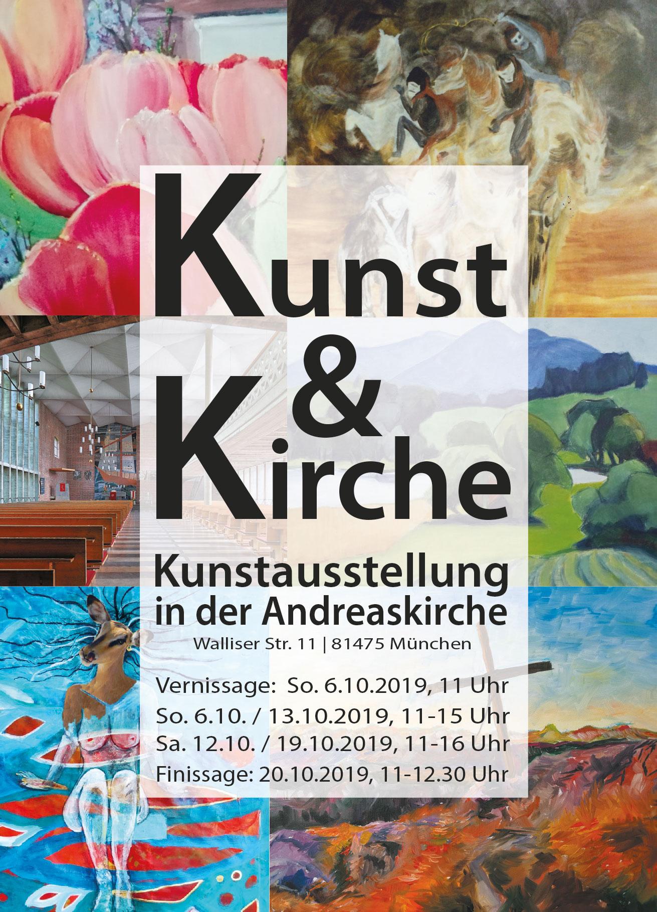 Kunst und Kirche @ Andreaskirche | München | Bayern | Deutschland