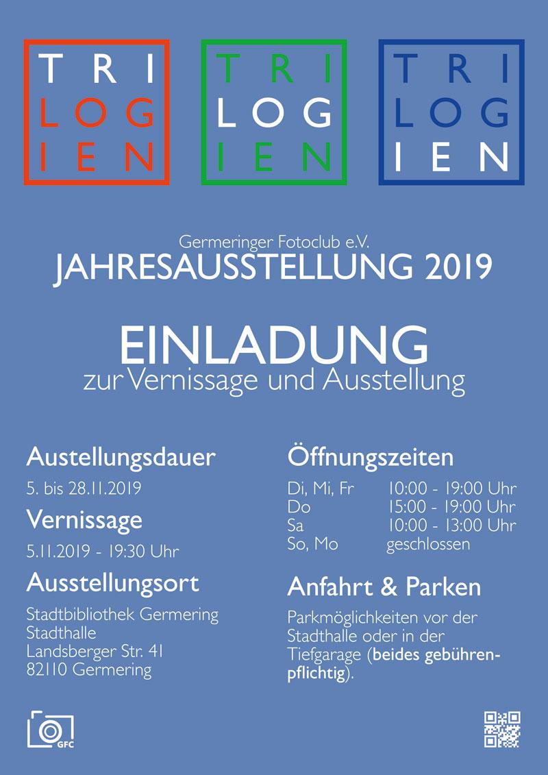 Vernissage Jahresausstellung 2019 @ Stadtbibliothek Germering | Germering | Bayern | Deutschland